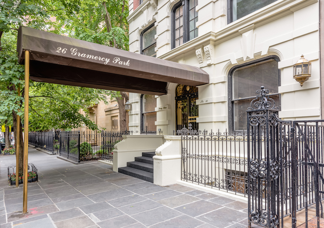 26 gramercy park south 5g evans nye for Gramercy park nyc apartments