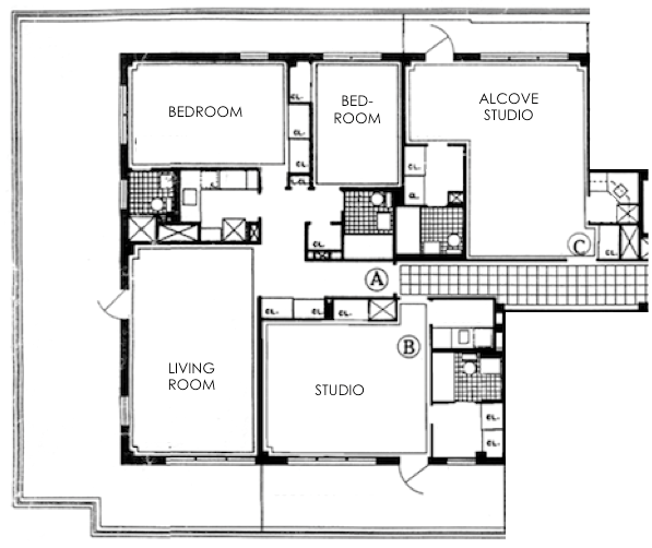 32 GPS Original Floor Plans